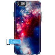 CandyShell Inked SuperNova Red Pattern/Tahoe Blue для iPhone 6 / 6s